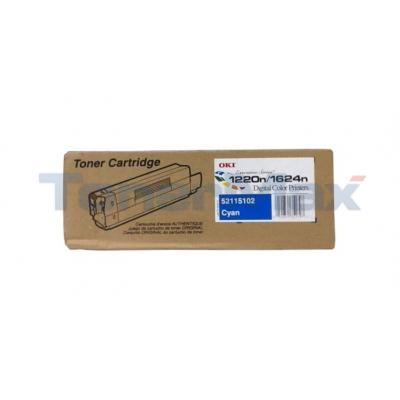 OKI ES1220N/ES1624N TONER CARTRIDGE CYAN